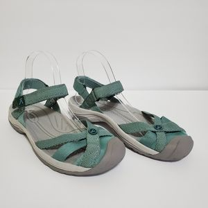 Keen Bali Strap Closed Toe Sandal. Size 8
